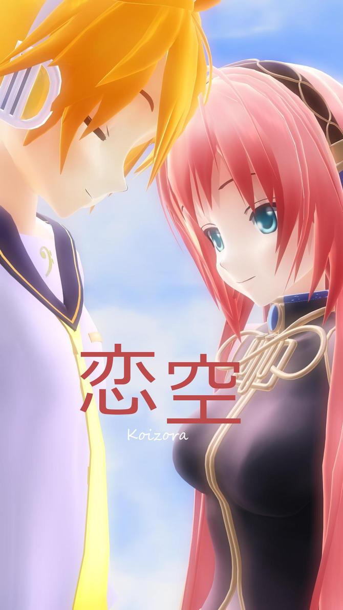 Koizora Drama Poster .:LenxLuka:. by ShiraikiMizuno
