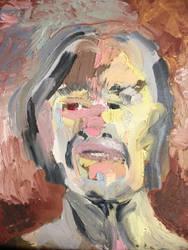 self-portrait  by lizkennedy