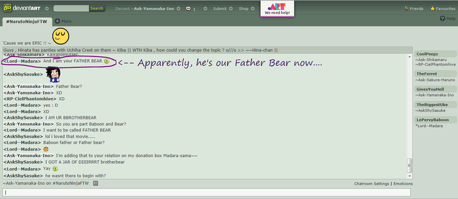 Father Bear Madara-sama by Ask-Yamanaka-Ino