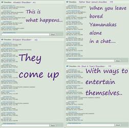 The Yamanakas got bored..