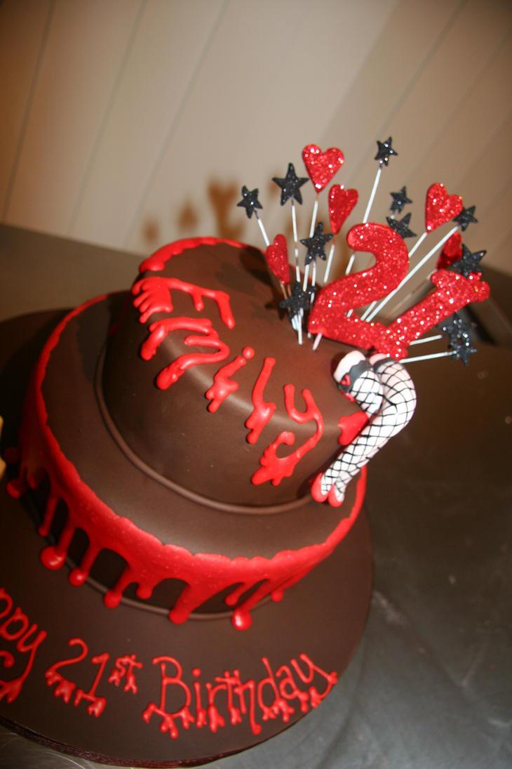 rocky horror cake by mudpiecakes on deviantart. Black Bedroom Furniture Sets. Home Design Ideas