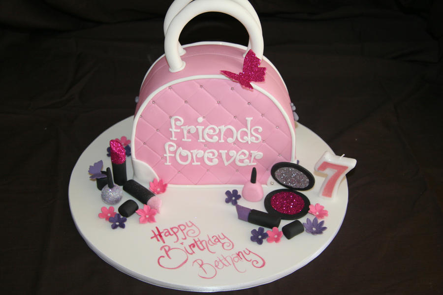 Girly Cake Design Ideas : Girly Handbag cake by mudpiecakes on DeviantArt