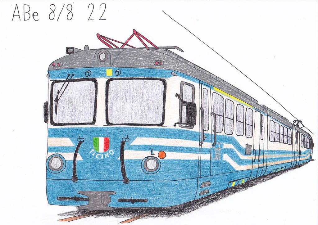ABe 8/8 22 by Ladone-delle-Lumiere