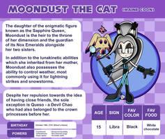 Sonic OC Profile - Moondust the Cat