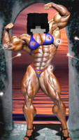 Muscle woman minecraft