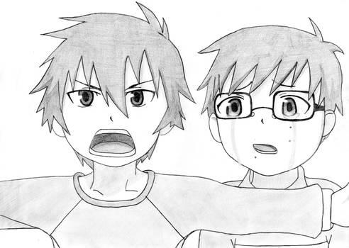 Ao no Exorcist - Rin and Yukio