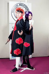 Pain and Konan by Winry-Kawaii