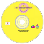 Barney: The Backyard Show (1988) DVD Disc