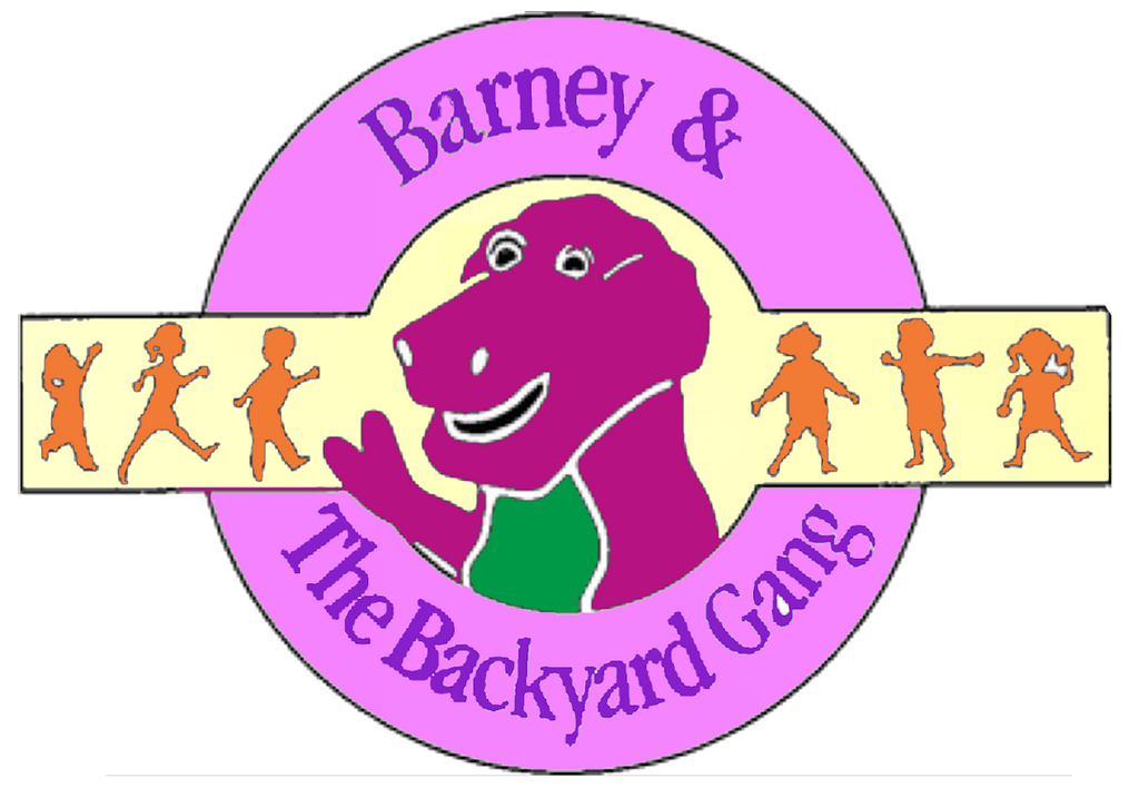 Barney and The Backyard Gang Logo (Recreation) by ...