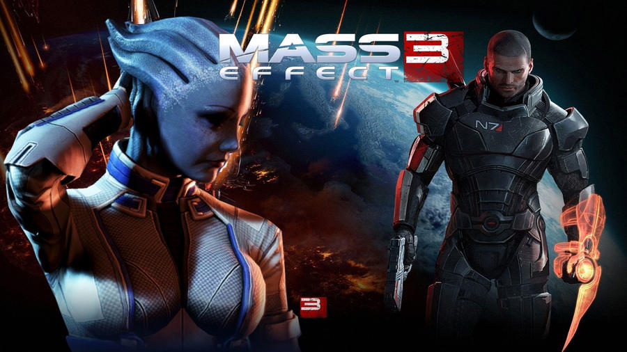 Mass effect 3 Liara and Shepard by dempatchsMass Effect 3 Liara And Shepard