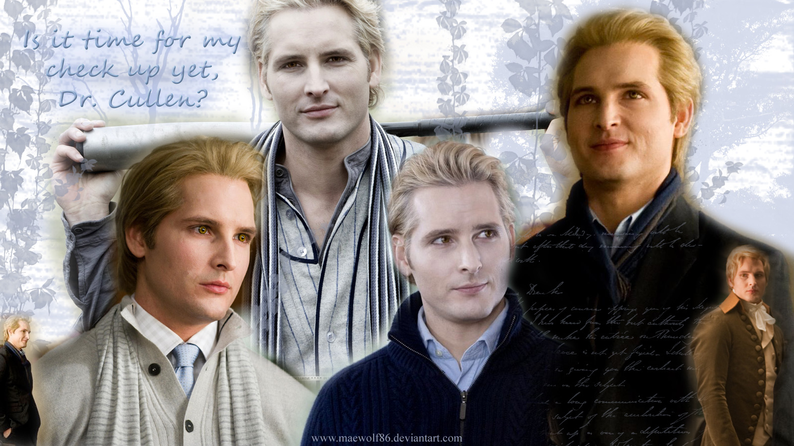 Dr. Cullen wallpaper by Maewolf86