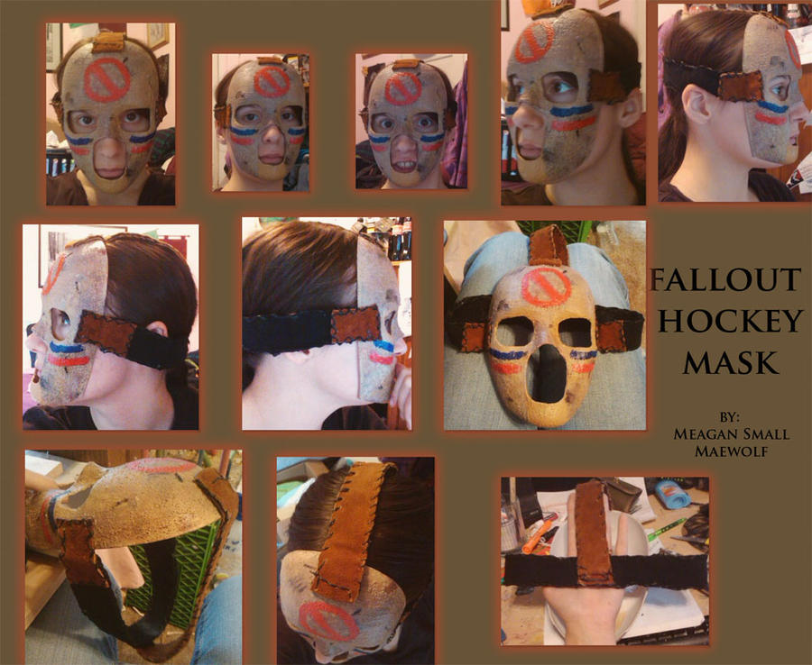 HOCKEY MASK FALLOUT FINISHED by Maewolf86