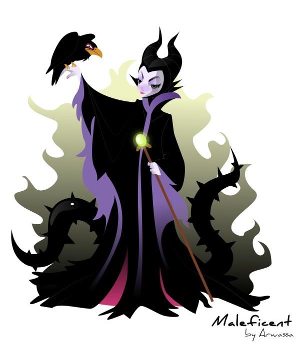 Maleficent by Arwassa