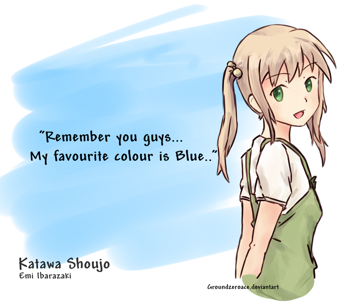 Katawa Shoujo - Colour... by groundzeroace