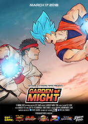 Garden of Might - 01 Street Fighter by groundzeroace