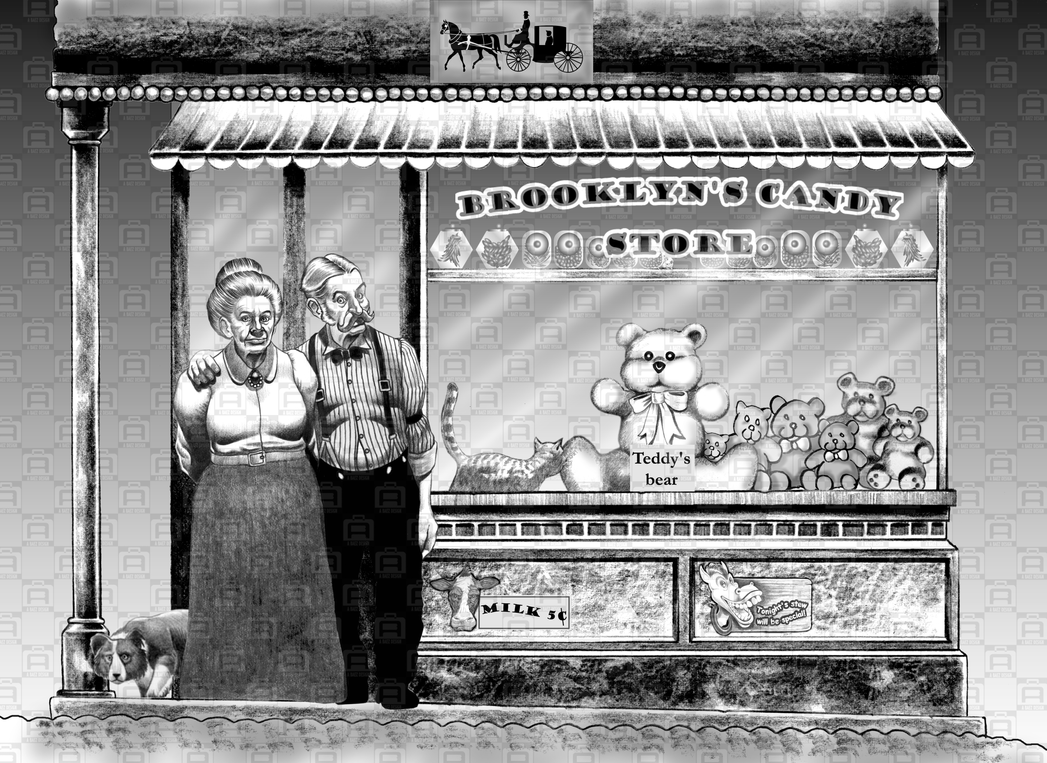 Brooklyn candy store by armandobaez1949 on deviantart for Art and craft store in brooklyn ny