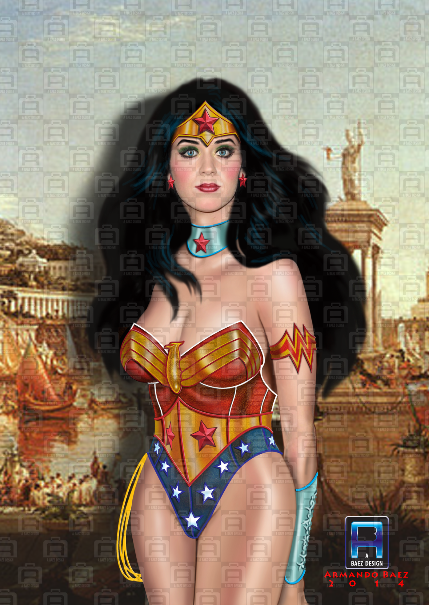 sexy katy perry wonder woman