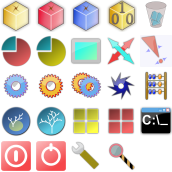 simple icons by pastakiller