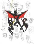 Batman Beyond Family