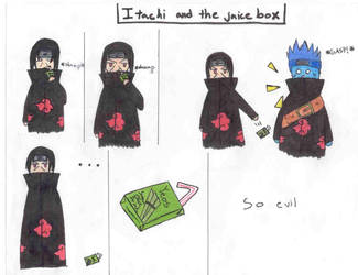 Itachi and the Juice Box
