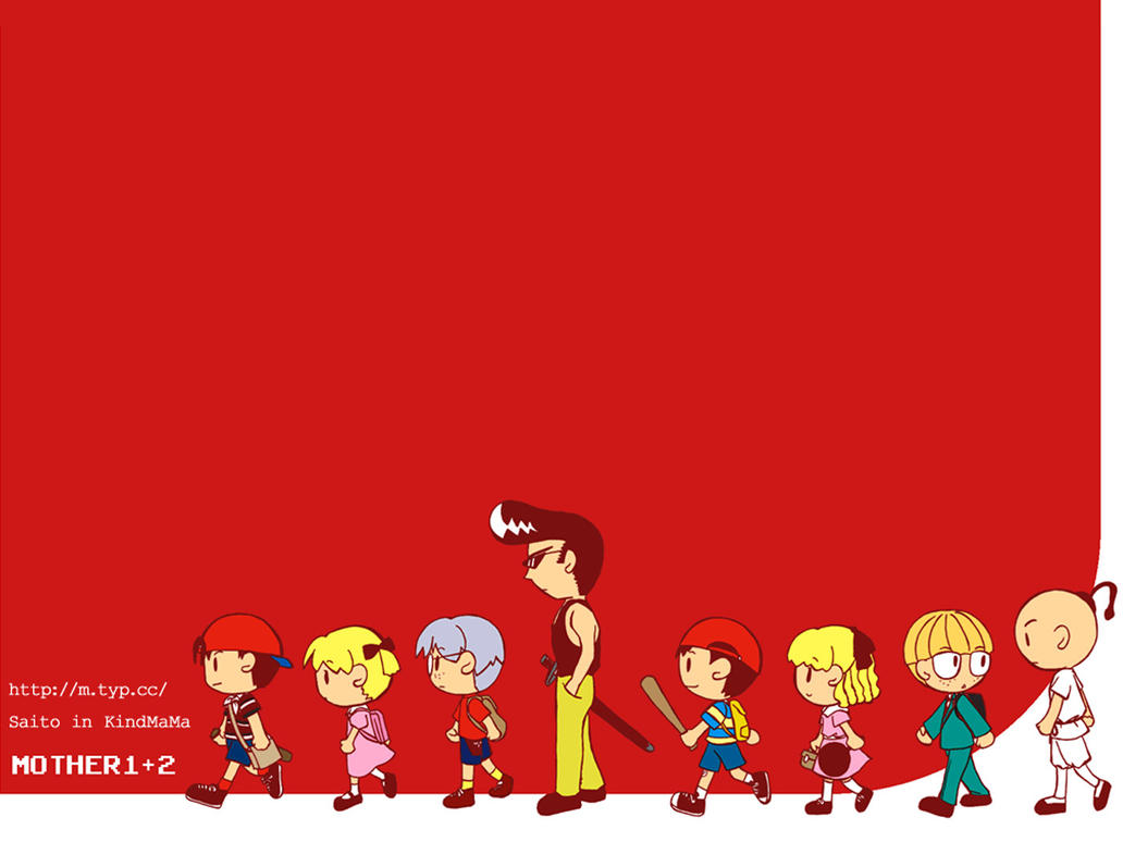Wallpaper MOTHER 1 2 By StarEspeon