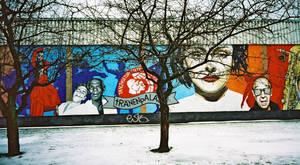 Berlin wall by H-L-J