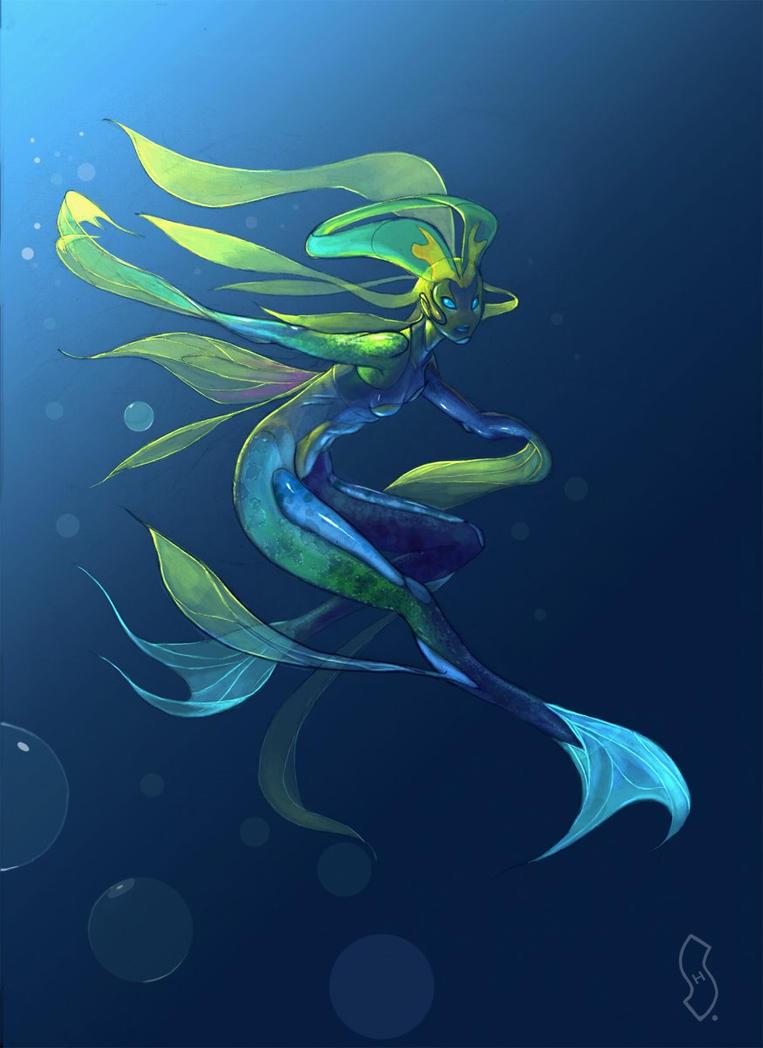 Aquatic Creature by CGMaxtor