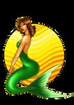 Mermaid Pinup