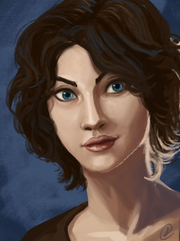 Girl portrait by Peipp