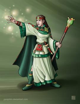 Greenhold Sorceress