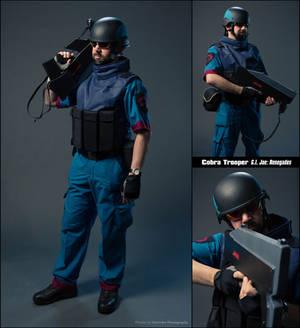 Cobra Trooper Cosplay (G.I. Joe: Renegades)