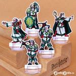 Greenhold Command 28mm Paper Miniatures