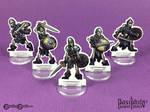 Undead Skeletons 28mm Paper Miniatures