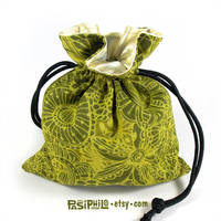 Wilderness Whimsy Printed Cotton Dice Bag