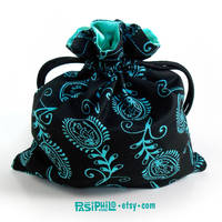Electric Elemental Envy Satin Lined Dice Bag