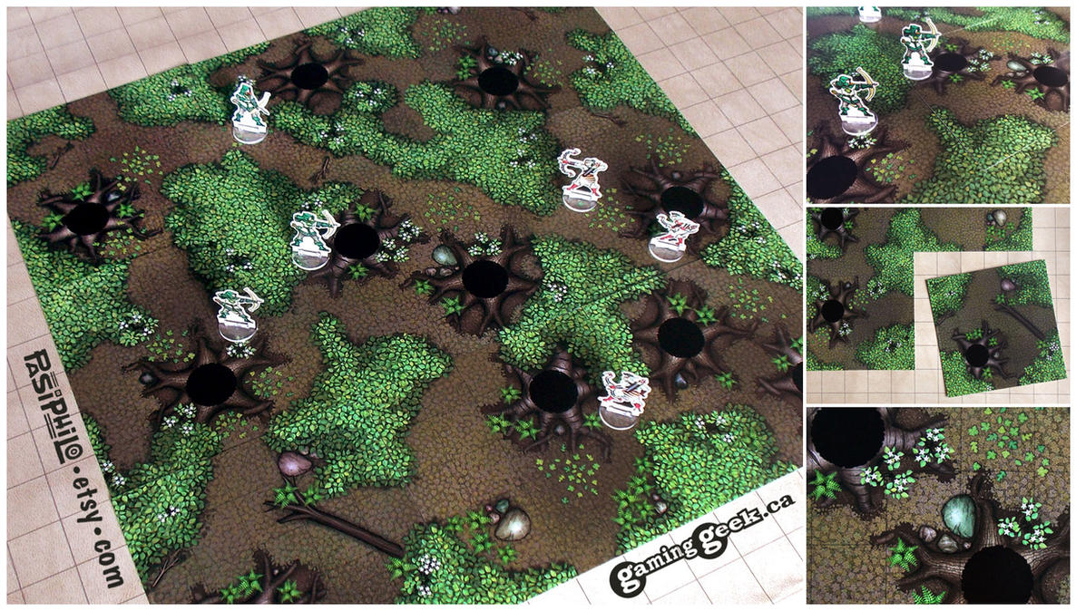 'Forest Terrain Tiles' by Joe Nittoly