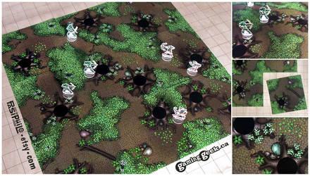 Tabletop RPG Forest Terrain Tiles