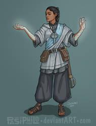 Ellora Sera - Human Cleric by Pasiphilo