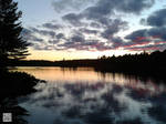 Sundown in Algonquin