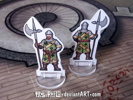 Knight of Spades Custom Mini (Commission)