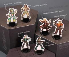 Cyberpunk-Fantasy 28mm Miniatures