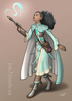 Liliana Trueheart, Human Bard-Wizard (commission)
