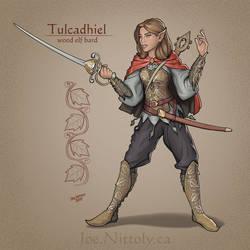 Tulcadhiel, Wood Elf Bard