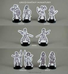 Greco-Fantasy 2D Minis