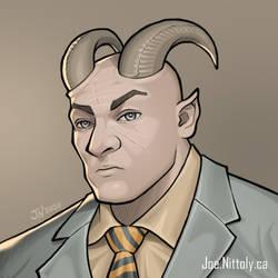 Troll Shadowrun NPC (Commission)