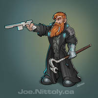 Seebs, Shadowrun Dwarf Fixer