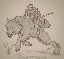 Vanu, Halfling Ranger (Beast Master)