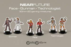 NearFuture Face, Gunman, Technologist
