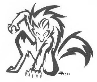 werewolf by Iciclefobbit