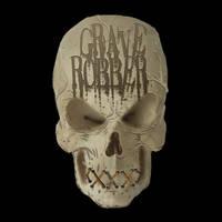 GRAVE ROBBER - Skull Logo